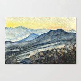 Haleakala Study Canvas Print