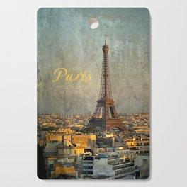 I love Paris Cutting Board