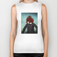 romantic Biker Tanks featuring MR. Romantic by Diogo Verissimo