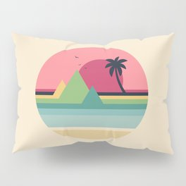 Tropical Sunset Pillow Sham