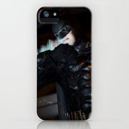 Patrolling Gotham iPhone Case