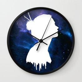 Constellation Girl Wall Clock