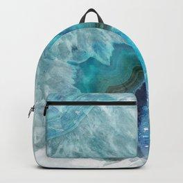 Blue Aqua Agate Backpack