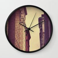 inception Wall Clocks featuring Inception by Caleb Troy