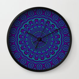 Trippy Kaleidoscope 2 Wall Clock