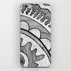 Lines & Dots iPhone Skin