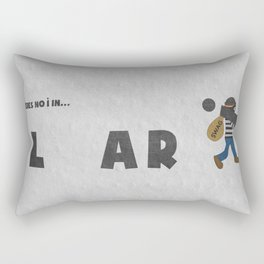 Liar Rectangular Pillow