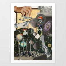 Worlds Within Worlds Art Print