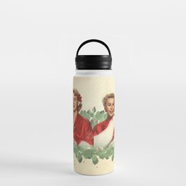 Sisters - A Merry White Christmas Water Bottle