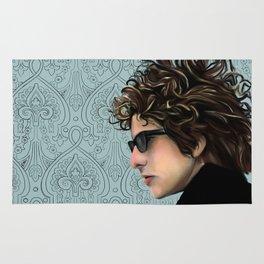 Bob Dylan Portrait Rug