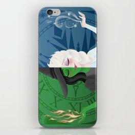 Fire & Ice iPhone Skin