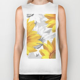 Sunflower Bouquet #decor #society6 #buyart Biker Tank