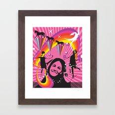 Beat Club Framed Art Print