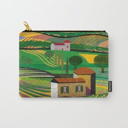 Farm House in fields Carry-All Pouch