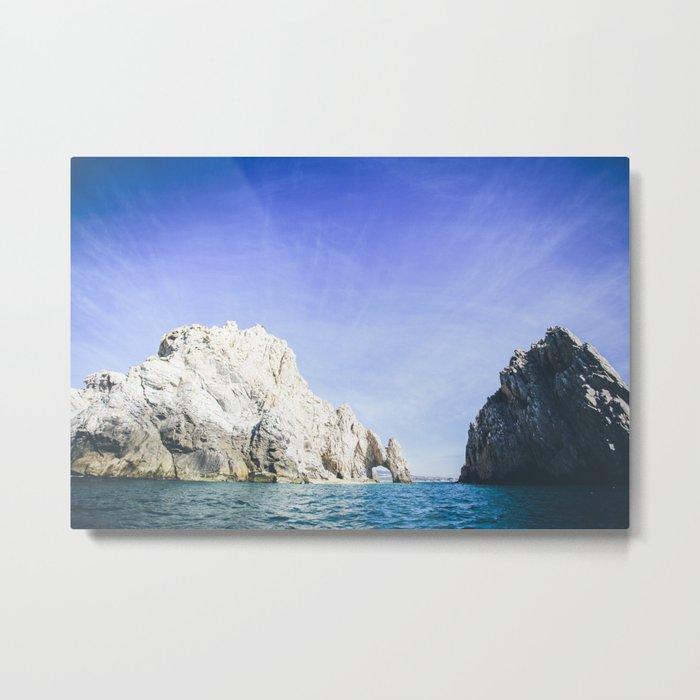 Lands End, Baja, Mexico Metal Print