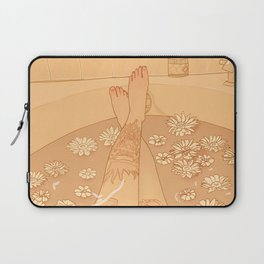 Flower Bath 10 (uncensored version) Laptop Sleeve