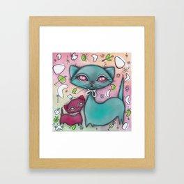 Together Always Framed Art Print