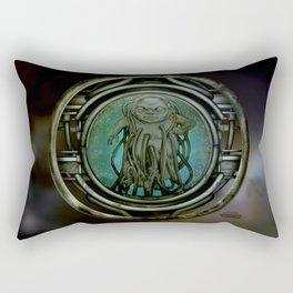 """""""Astrological Mechanism - Aquarius"""" Rectangular Pillow"""