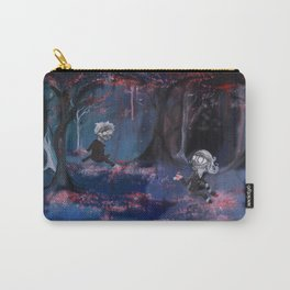 Meeting in the Sakura Woods Carry-All Pouch
