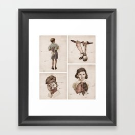 what kids are made of Framed Art Print