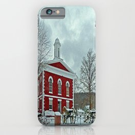 Iron County Courthouse iPhone Case