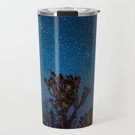 Midnight Stars at Joshua Tree Travel Mug