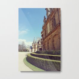 Chateau Metal Print