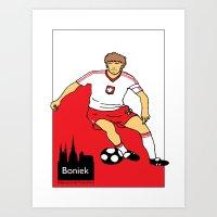 Zbigniew Boniek - Poland Art Print