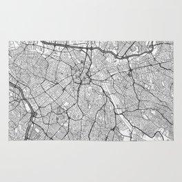 Sao Paulo Map Line Rug