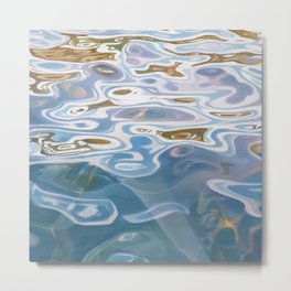 Threshold - water painting Metal Print