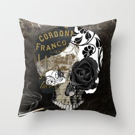 Belle Morte II Throw Pillow
