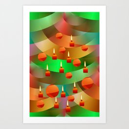 Merry Christmas -1- Art Print