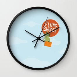 Flying Shokoy (Philippine Mythological Creatures Series #4) Wall Clock