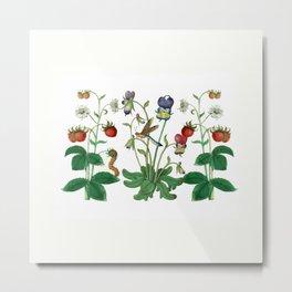 The Botanicals - medley Metal Print