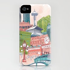 A Pleasant Day in Seattle iPhone (4, 4s) Slim Case