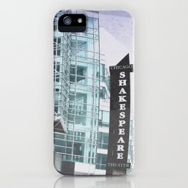 Chicago Shakespeare Theater  iPhone Case