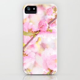 Pink sakura flowers - Japanese cherry blossom iPhone Case