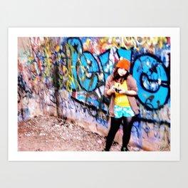 Hazy memories Art Print