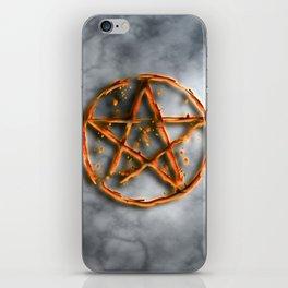 Supernatural devil's trap iPhone Skin