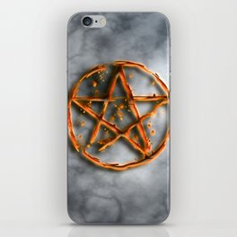 Supernatural devil's trap iPhone Skin