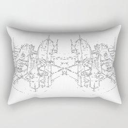city structure Rectangular Pillow