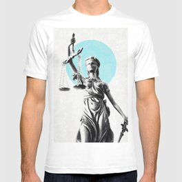 Lady of justice T-shirt