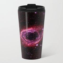 Magenta Pink helix nebula Travel Mug