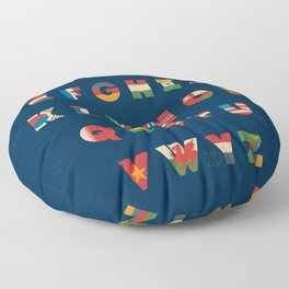 The Alflaget Floor Pillow