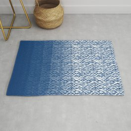 Monochrome Pattern Rug