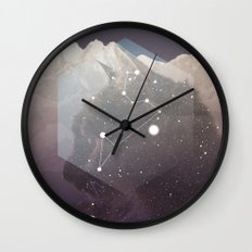 Cosmic Cat Wall Clock