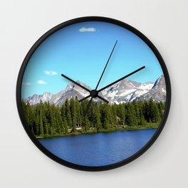 Molas Lake in the San Juan Mountains Wall Clock