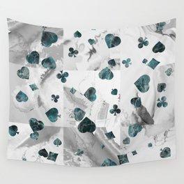 Luxury Marble Suits Pattern Digital Art Wall Tapestry