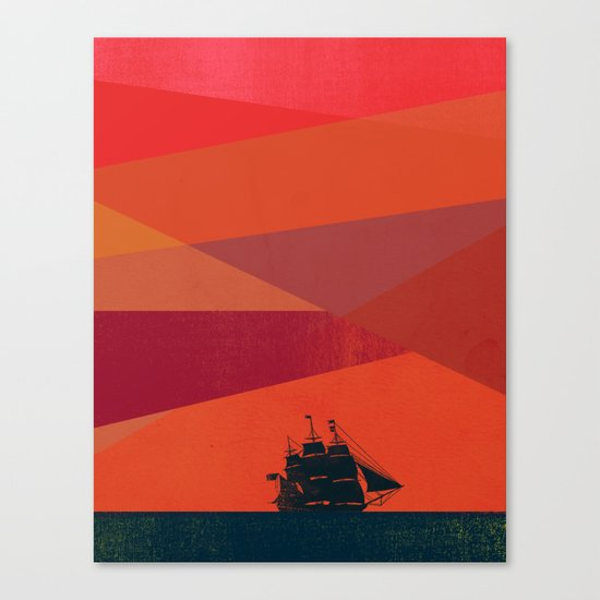Dawn Voyage Canvas Print