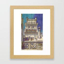 Belem tower, Portugal Framed Art Print